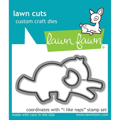 Lawn Fawn I LIKE NAPS Die Cuts lf2164 Preview Image