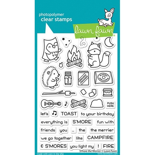 Lawn Fawn S'MORE THE MERRIER Clear Stamps lf2593 Preview Image
