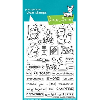 Lawn Fawn S'MORE THE MERRIER Clear Stamps lf2593