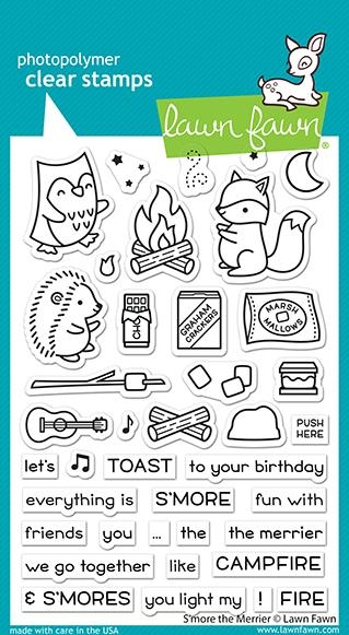 Lawn Fawn S'MORE THE MERRIER Clear Stamps lf2593 zoom image