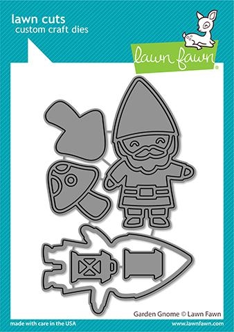 Lawn Fawn GARDEN GNOME Die Cuts lf2553 zoom image