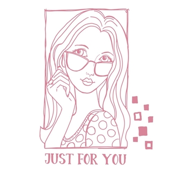 Couture Creations JUST FOR YOU PORTRAIT Clear Stamp Set co728365