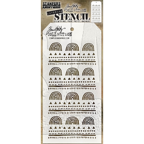 Tim Holtz Layering Stencil NATURE THS154 Preview Image