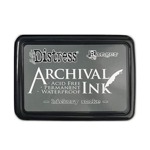 Tim Holtz Distress Archival Ink Pad HICKORY SMOKE Ranger Preview Image