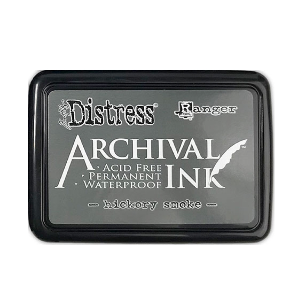 Tim Holtz Distress Archival Ink Pad HICKORY SMOKE Ranger zoom image