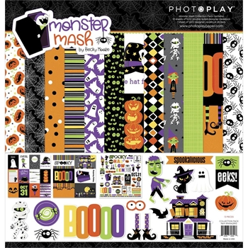 PhotoPlay MONSTER MASH 12 x 12 Collection Pack mma2892
