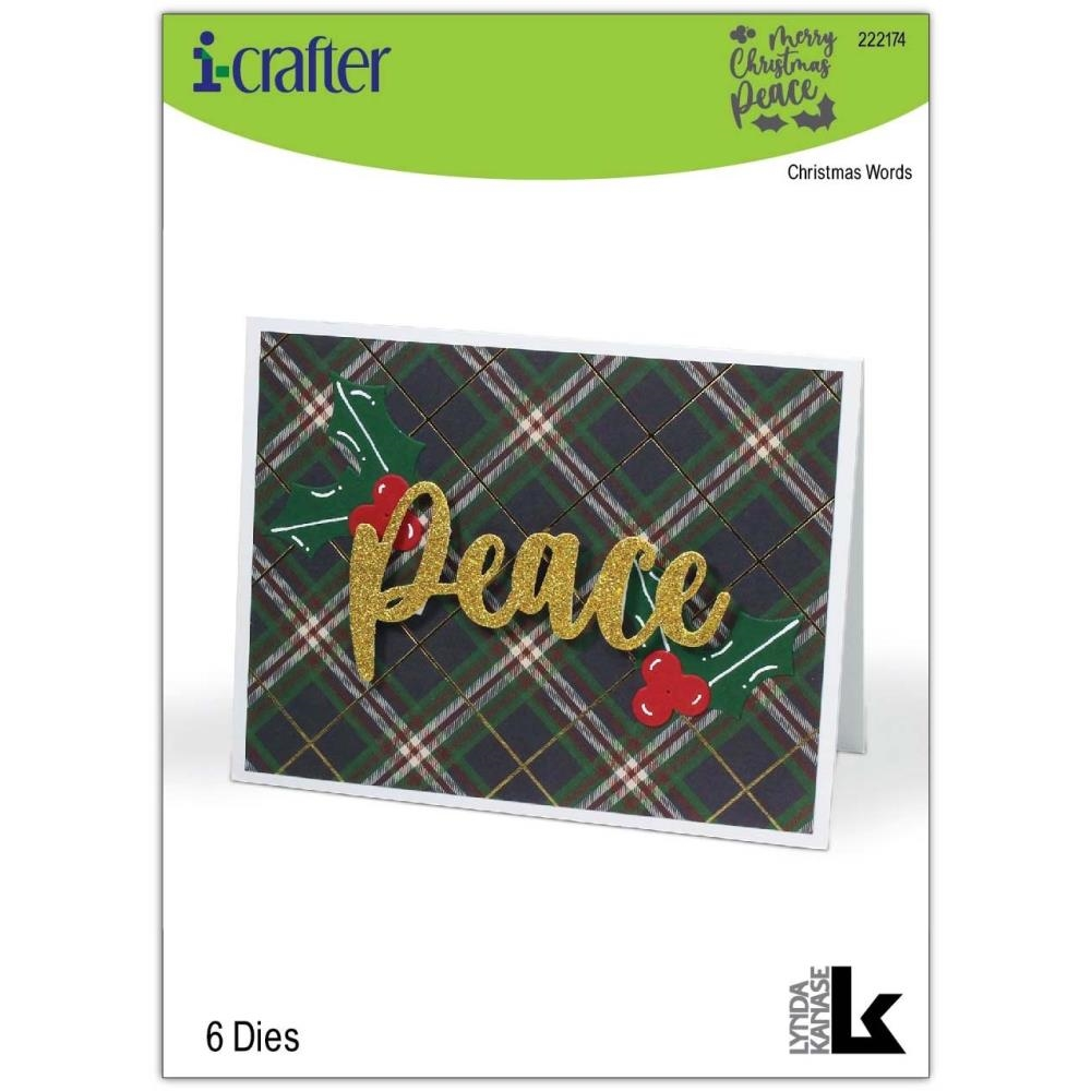 i-Crafter CHRISTMAS WORDS Dies 222174 zoom image