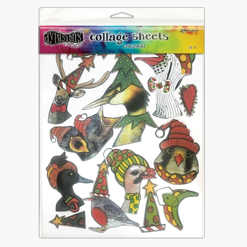 Ranger Dylusions Collage Sheets CHRISTMAS dya76933 Preview Image