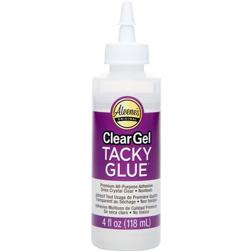 Aleene's CLEAR GEL TACKY GLUE 4oz Adhesive Preview Image