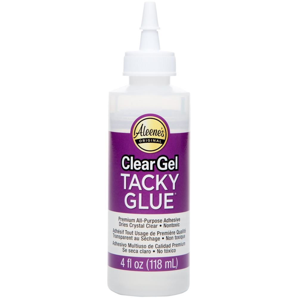 Aleene's CLEAR GEL TACKY GLUE 4oz Adhesive zoom image