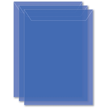 Memory Box LARGE STORAGE POUCH PERIWINKLE Pack of 50 sb1004 **