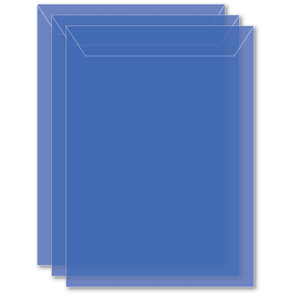 Memory Box LARGE STORAGE POUCH PERIWINKLE Pack of 50 sb1004 ** zoom image