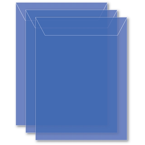 Memory Box MEDIUM STORAGE POUCH PERIWINKLE Pack of 50 sb1005 ** Preview Image