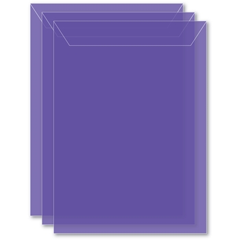 Memory Box LARGE STORAGE POUCH VIOLET Pack of 50 sb1007 **