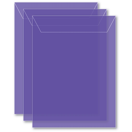 Memory Box MEDIUM STORAGE POUCH VIOLET Pack of 50 sb1008 ** Preview Image