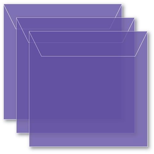 Memory Box SMALL STORAGE POUCH VIOLET Pack of 50 sb1009 ** Preview Image
