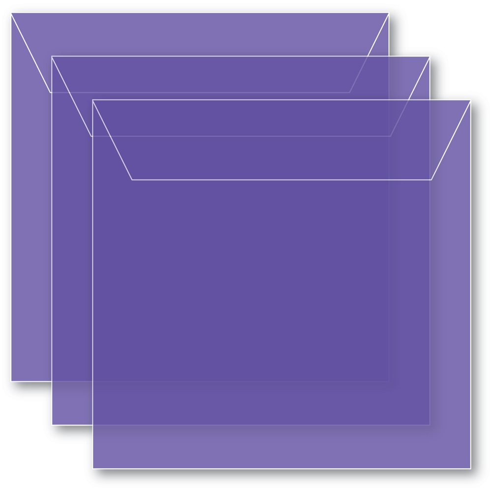 Memory Box SMALL STORAGE POUCH VIOLET Pack of 50 sb1009 ** zoom image