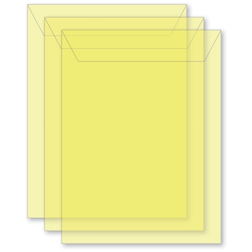 Memory Box MEDIUM STORAGE POUCH DAFFODIL Pack of 50 sb1014 ** Preview Image
