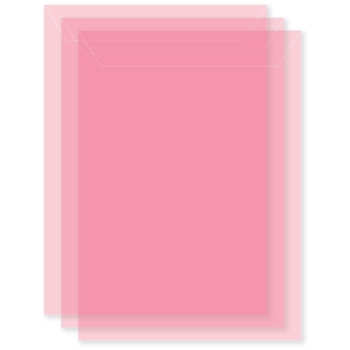 Memory Box LARGE STORAGE POUCH PETAL PINK Pack of 50 sb1016