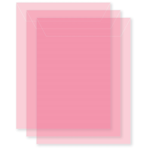 Memory Box MEDIUM STORAGE POUCH PETAL PINK Pack of 50 sb1017 ** Preview Image