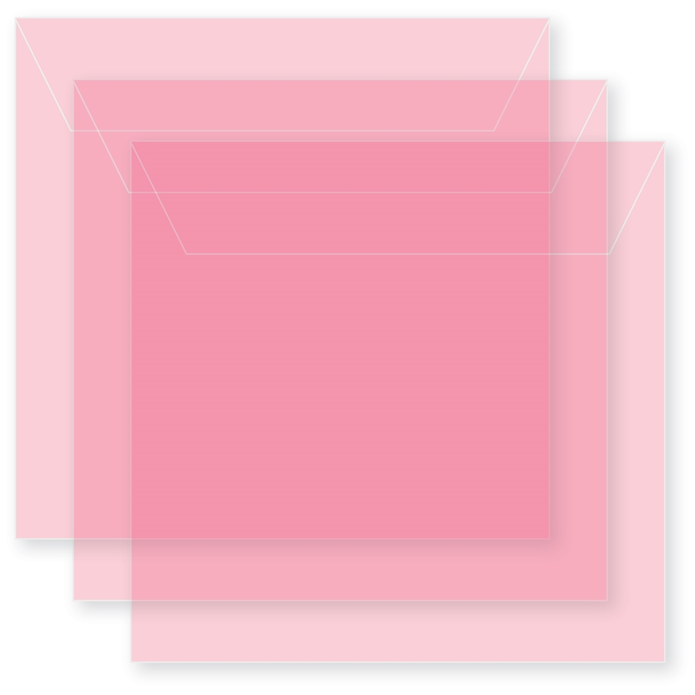 Memory Box SMALL STORAGE POUCH PETAL PINK Pack of 50 sb1018 ** zoom image