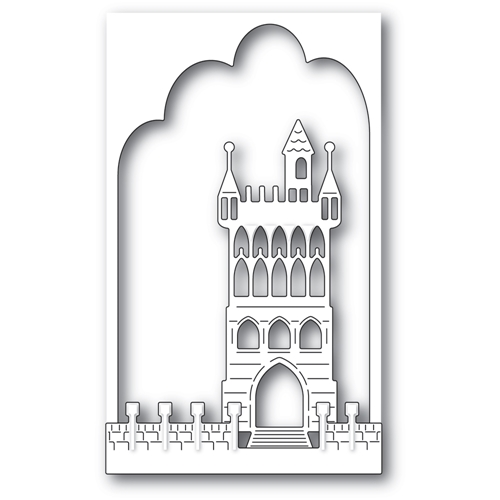 Memory Box FANTASY CASTLE COLLAGE Dies 94510 Preview Image