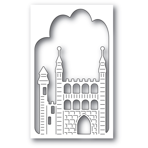 Memory Box STONE KEEP CASTLE COLLAGE Die 94512 Preview Image