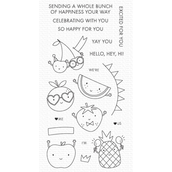 My Favorite Things BUNCH OF HAPPINESS Clear Stamps cs579