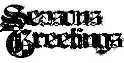 Tim Holtz Rubber Stamp SEASON'S GREETINGS Christmas Stampers Anonymous K3-1448 Preview Image
