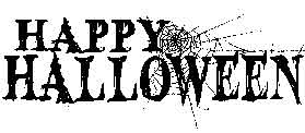 Tim Holtz Rubber Stamp HALLOWEEN P6-1455 Happy zoom image