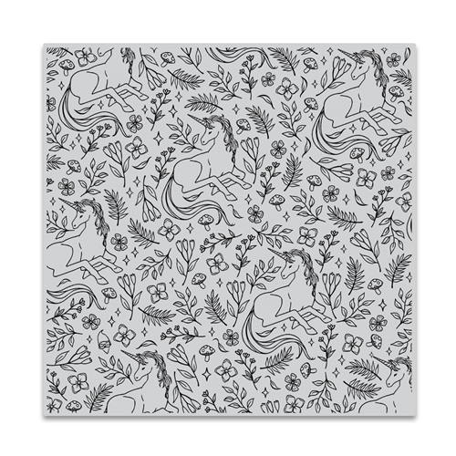 Hero Arts Cling Stamp MAGICAL UNICORN BOLD PRINTS CG857 Preview Image