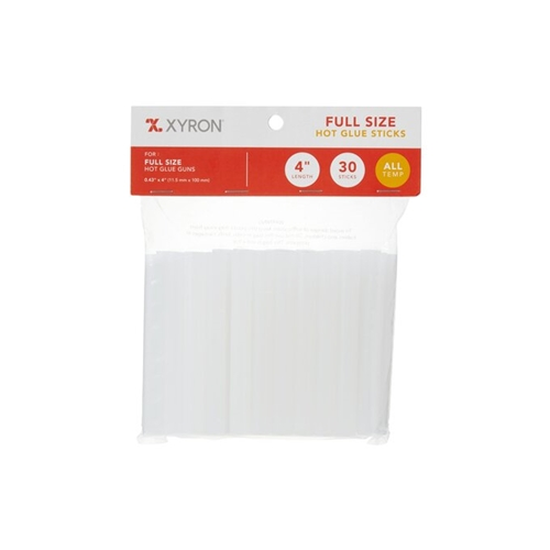 Xyron 4 INCH Full Size Hot Glue Sticks 30 Pack x627242 Preview Image
