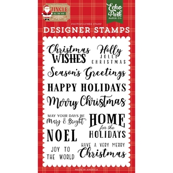 Echo Park CHRISTMAS WISHES Clear Stamps jin252044