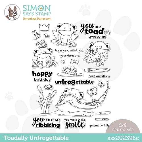 Simon Says Clear Stamps TOADALLY UNFROGETTABLE sss202396c Preview Image