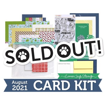 Simon Says Stamp Card Kit of the Month August 2021 TOADALLY UNFROGETTABLE ck0821