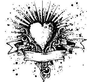 Tim Holtz Rubber Stamp HEART N SOUL U2-1474 Preview Image