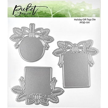 Picket Fence Studios HOLIDAY GIFT TAGS Die pfsd191