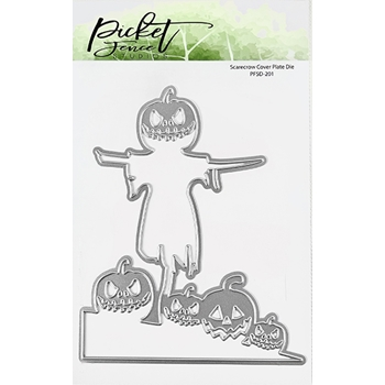 Picket Fence Studios SCARECROW COVER PLATE Die pfsd201