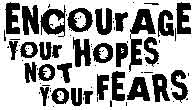 Tim Holtz Rubber Stamp ENCOURAGE Stampers Anonymous J2-1496 Preview Image