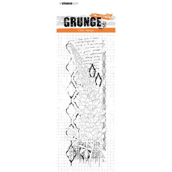 Studio Light LUPINE Grunge Collection 39 Clear Stamps slgrstamp39