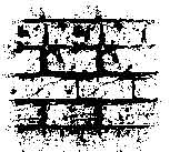 Tim Holtz Rubber Stamp BRICKED Background Stampers Anonymous H1-1481