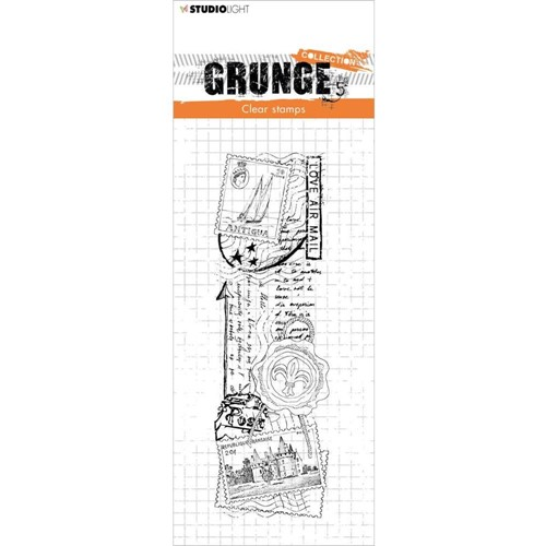 Studio Light LOVE MAIL Grunge Collection 36 Clear Stamps slgrstamp36 Preview Image