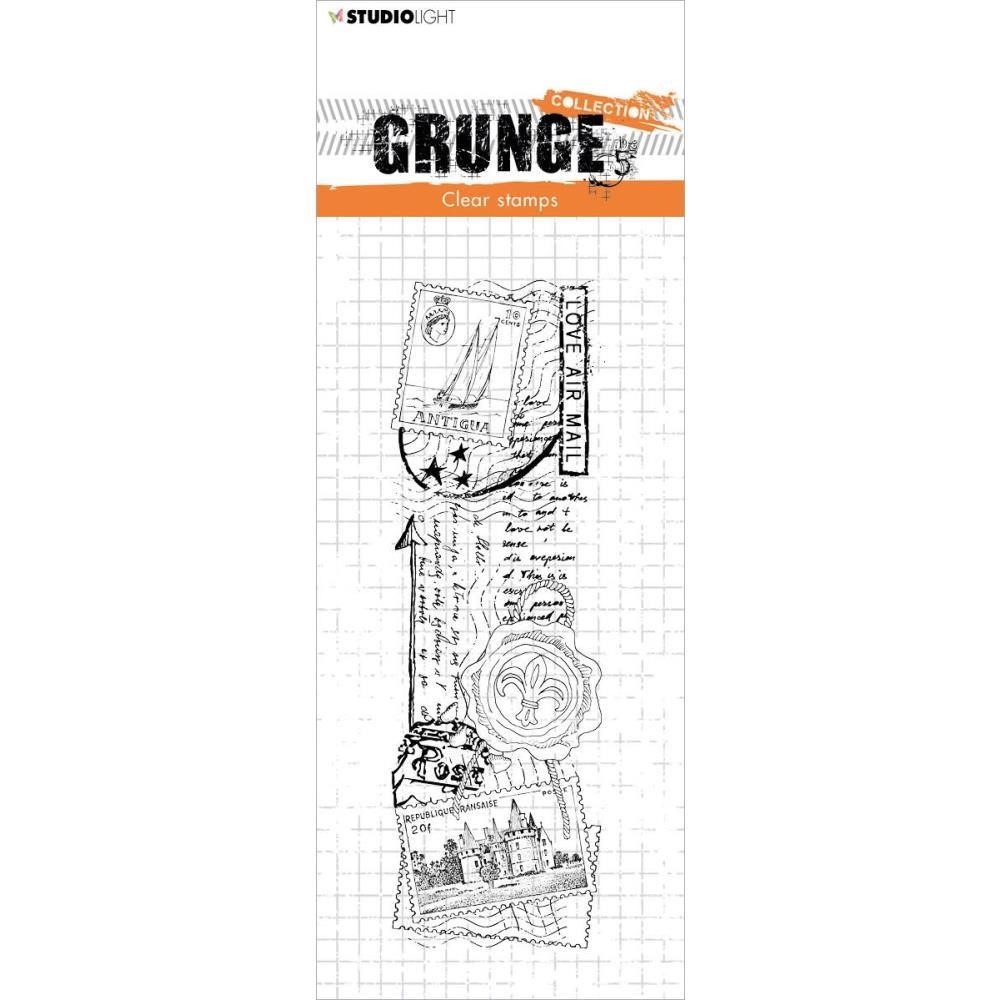 Studio Light LOVE MAIL Grunge Collection 36 Clear Stamps slgrstamp36 zoom image
