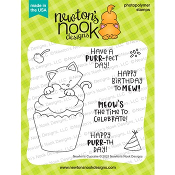 Newton's Nook Designs NEWTON'S CUPCAKE Clear Stamps NN2107S01