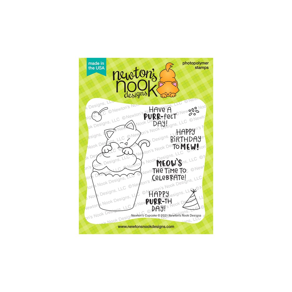 Newton's Nook Designs NEWTON'S CUPCAKE Clear Stamps NN2107S01 zoom image