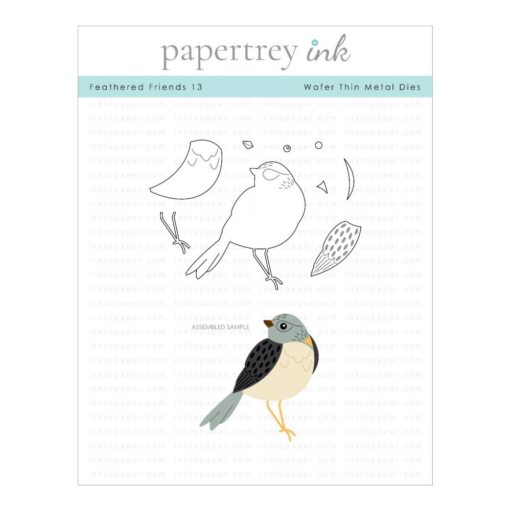 Ink to Paper FEATHERED FRIENDS 13 Dies ITP311 zoom image