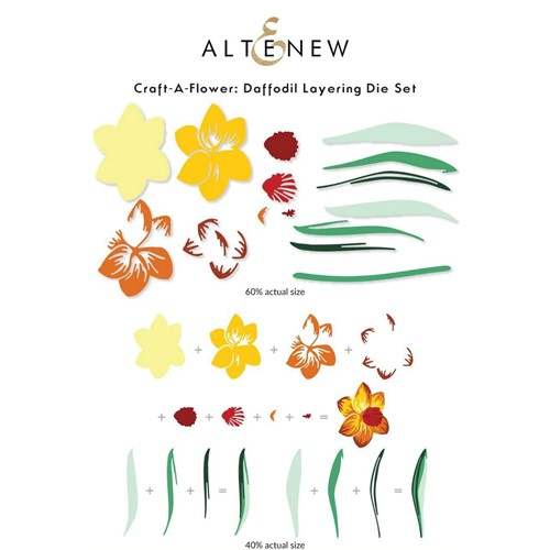 Altenew Craft a Flower DAFFODIL Layering Dies ALT6237 Preview Image