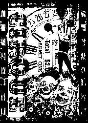 Tim Holtz Rubber Stamp CIRCUS FREAK Stampers Anonymous zoom image