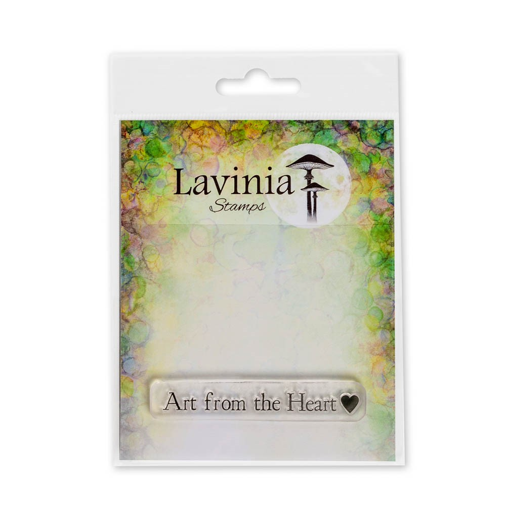 Lavinia Stamps ART FROM THE HEART Clear Stamps LAV676 zoom image