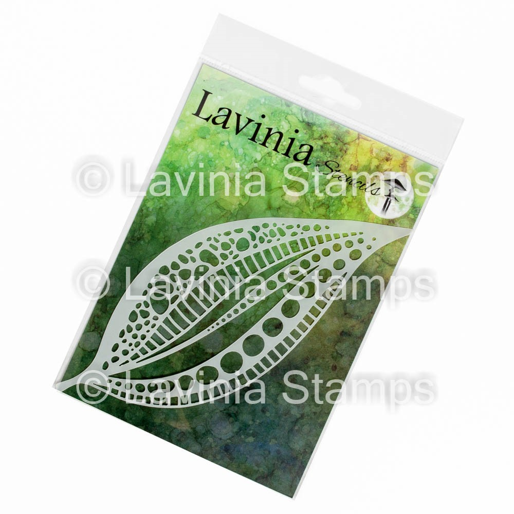 Lavinia Stamps TALL LEAF MASK Stencil ST027 zoom image